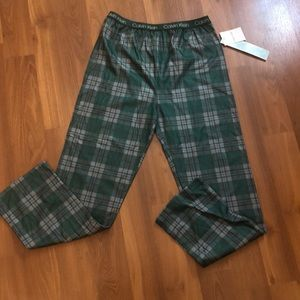 Calvin Klein Pajamas Pants Boys size XL NWT